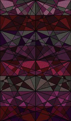 Textil inspirado en los caleidoscopios.  Disponible en la tienda ONLINE. https://www.kichink.com/stores/cristinaorozcocuevas#.VGYWJckhAnj