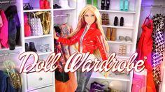 DIY - How to Make a Doll Wardrobe - Handmade - Fashion - Doll - Crafts