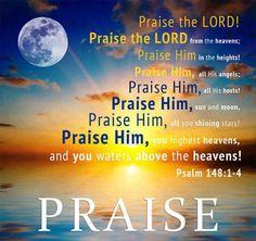 Psalm 148 : 1-4