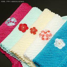 2013 きもの町オリジナルきもの福袋:刺繍絞り帯揚げ - 京都きもの町 -