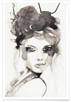 HOT MESS als Premium Poster von Victoria Verbaan | JUNIQE