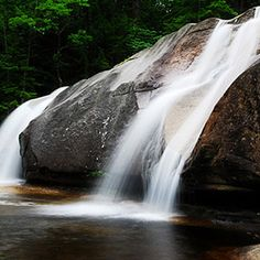 Diana's Bath, White Mountains, NH - Beautiful Waterfalls Around the World Timeline Cover Photos, Iguazu Falls, Yosemite Falls, White Mountains, Beautiful Waterfalls, Turquoise Water, Travel And Leisure, Trip Planning, Traveling By Yourself