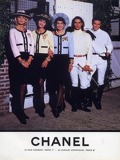 Chanel 1990 Fashion Photography