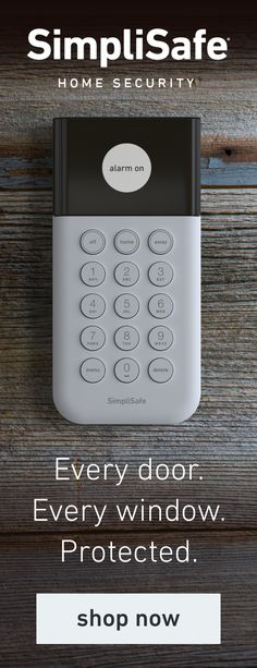 SimpliSafe Official Site: get the wireless home security system that lets you take control of your safety - in your home, apartment, or business Home Security Alarm, Best Home Security, Home Security Systems, Security Door, Security Camera, Verona, Home Protection, Home Gadgets, Home Safety