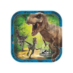 Jurassic World(TM) Dessert Plates