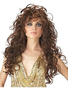 California Costumes Womens Seduction WigBrownOne Size >>> ** AMAZON BEST BUY ** #SexyCostumes