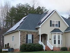Residential Install  Photovoltaic (PV) System  16 Panels  4.0 kW  Stokesdale, North Carolina