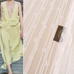 """Imperial Lace on Instagram: """"Off white chantilly stripes and flowers all around beautiful lace fabric🤩🌿NEW Clothe yourself in our laces! #offwhite #romantic #bestlace…"""""""