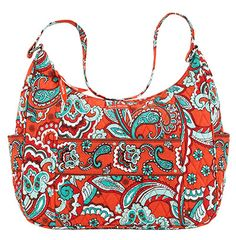 Bali Bright Vanessa - Let the Vanessa be your everyday purse or a tote. There is plenty of room inside for all you need! The Vanessa handbag is 100% cotton with a single fabric shell and foam batting, machine quilted with extra reinforcements on all stress points. Base-12.75