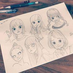 ✏︎ #ryomurata #artwork #artworks #drawing #illust #illustration #sketch #pencil #love #instagood #beautiful #cute #happy #girl