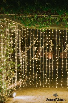Fairy Lights Decoration for a Romantic Wedding!  Discover More in Our Profile! #wedding_inspiration, #wedding_destination_Greece, #wedding_decorations, #elegant_wedding_inspiration, #outdoor_wedding_inspiration, #wedding_venue_decoration, #wedding_fairy_lights, #wedding_venue_setup, #SoundVoiceGR Nordic Wedding, Elegant Wedding, Perfect Wedding, Diy Wedding, Wedding Venues, Floral Wedding Decorations, Light Decorations, Fairy Lights Wedding, Outdoor Wedding Inspiration
