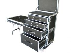 Pro Cases - AC-WBT96 Work Box, ATA cases, Custom Cases, Flight Cases, LED Cases, Shock Mount Cases, Rack Mixer Cases, Road Case Flight Case, Equipment Cases, Road Cases, Custom Cases, Steamer Trunk, Studio Setup, Tattoo Supplies, British Colonial, Lifeguard