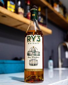 RY3 Rum Cask Finished Rye Whiskey Review Rye Whiskey, Whisky, Creme Brulee, Chocolate Fudge, Simple Syrup, Raisin, Rum, Vodka Bottle, It Is Finished
