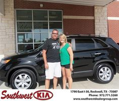 Congratulations to Earnie Phelps on the 2013 #KIA #Sorento