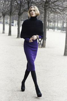 Christian Dior fall style
