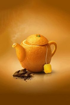 Orange tea (with chocolate!)