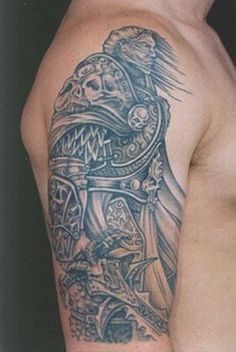 Celtic Warrior Tattoo | By Tattoo Color: