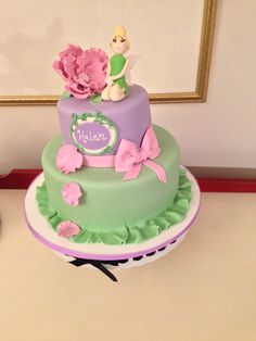 Tinker Bell Cake, by Any Hart