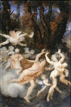 Jean-Honoré Fragonard - Apollon et Daphné