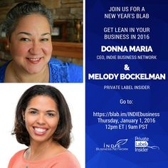 Join me on Blab: Get Lean in Your Business in 2016 - Indie Business Network