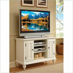 Home Styles Bermuda White TV Stand - 5543-09