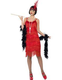 20er Charleston Can Can Jazz Damenkostüm Fransenkleid rot-glänzend aus unserer Kategorie 20er & 30er Jahre Kostüme. Mit diesem Flapperkleid hätten Sie selbst in den Goldenen Zwanzigern für reichlich Gesprächsstoff unter den Edeldamen gesorgt! Einfach ein atemberaubendes Faschingskostüm, mit dem Sie die Tanzfläche in Flammen aufgehen lassen!