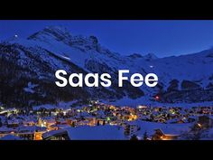 A video introduction to the high-altitude Swiss ski resort of Saas Fee. Located in the Canton Valais and surrounded by dramatic glacial scenery, there is evi. Snow Bar, Swiss Ski, Saas Fee, Competitor Analysis, Alps, Live Music, Awesome, Amazing, This Is Us