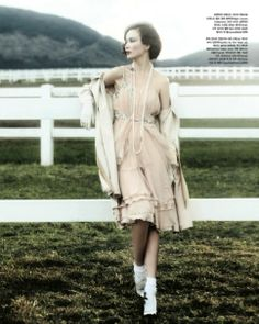 """The Terrier and Lobster: """"The Great Spring"""" by Hong Jang Hyun for Vogue Korea"""