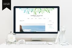 Free Monthly Blogger Template | July - Blog Design | Blogger Templates - Designer Blogs