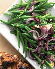 I brought this to a lot of parties & it's always a big hit. It has a great appearance & is a good change of pace salad. Emeril's recipes are always good, not hard to make either.