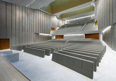 Auditorium and Stadium Seating - Sedia Systems -Genya