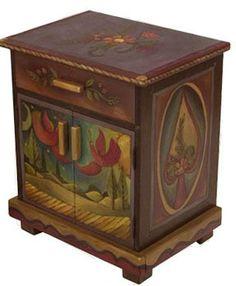 Sticks Nightstand Cabinet 8645 by Sticks   Sticks Furniture, Home Decorative Accents
