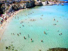 cove in Sicily,Italy