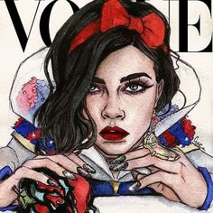Gisele, Cara, Jourdan, and More Models Re-Created in Fan Art All Over the Internet – Vogue