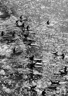 Malibu 1961. Allan Grant by LIFE.