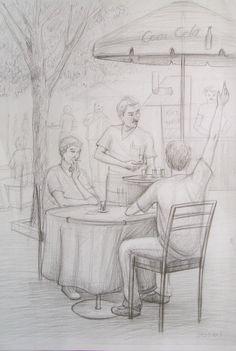 kocaeli izmit resim kursu: Güzel Sanatlara Hazırlık Desen Çalışmaları Human Figure Sketches, Human Sketch, Human Figure Drawing, Figure Sketching, Art Drawings For Kids, Pencil Art Drawings, Art Drawings Sketches, One Perspective Drawing, Perspective Art