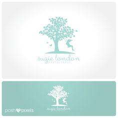 Logo Design (Premade) Tree logo, Photography logo, Child logo, Business logo by PoshPixelsShop on Etsy https://www.etsy.com/listing/187571141/logo-design-premade-tree-logo