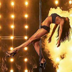 Awesome pole dance shot. Pole fitness