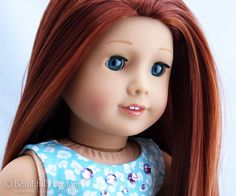 Premium Doll Eyes, Wigs & More. Tutorials for how to eye-swap and re-wig your American Girl, Gotz, Our Generation. Custom American Girl Dolls, American Dolls, Custom Dolls, Doll Wigs, Doll Hair, Ag Hair Products, Doll Makeup, Ag Dolls, Doll Clothes
