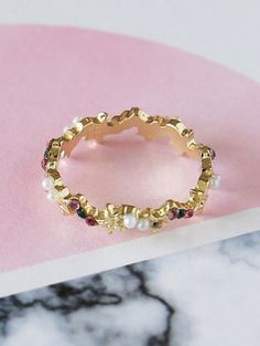 SHARE & Get it FREE | Small Faux Pearl Rhinestone RingFor Fashion Lovers only:80,000+ Items • New Arrivals Daily Join Zaful: Get YOUR $50 NOW!