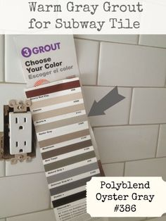 Mapai Grout Color Chart Avalanche For Bright White