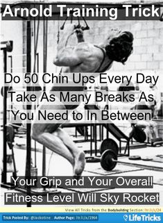 Bodybuilding - Arnolds Grip and Overall Fitness Trick