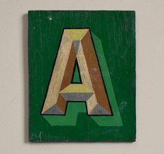 #lettera #vintageletter #signletter #lettering #walldecor #vintagedecor