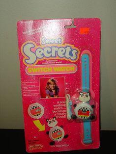 Sweet Secrets Animal Switch Watch