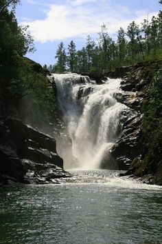 Big Rock Falls, Mountain Pine Ridge Forest Reserve, Belize