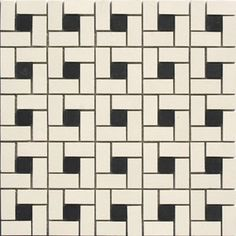 Finding the right historic floor tile patterns for your vintage bathroom remodel is tough. Here's some awesome patterns that are still available today. Vintage Bathroom Floor, 1920s Bathroom, Vintage Bathrooms, Bathroom Ideas, Vintage Tile Floor, Retro Tile, Downstairs Bathroom, Bathroom Art, Small Bathroom