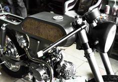 custom-made bandit9 bishop motorcycle limited to nine models