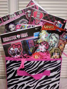 Monster High Basket