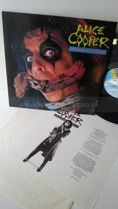 ALICE COOPER constrictor, MCF 3341, credits insert - ROCK, PSYCH, PROG, POP, SHOE GAZING, BEAT Vinyl Record Shop, Vinyl Records, Alice Cooper, Psych, Shoe, Rock, Shoemaking, Skirt, Locks
