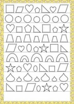 Trace the Dotted Lines Worksheets for Kids - Preschool and Kindergarten Preschool Writing, Preschool Learning, Preschool Activities, Teaching Kids, Autumn Activities, Tracing Worksheets, Alphabet Worksheets, Kindergarten Worksheets, Pre Writing